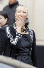 SOO JOO PARK at Chanel Show at Paris Fashion Week 10/02/2018