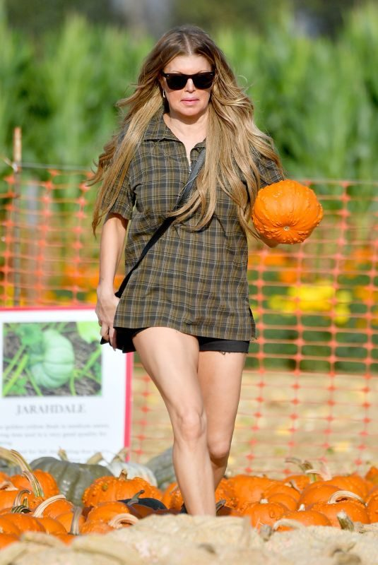STACY FERGIE FERGUSON at Underwood Family Farms in Moorpark 10/14/2018