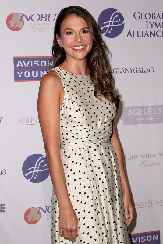 SUTTON FOSTER at Global Lyme Alliance New York City Gala 10/11/2018