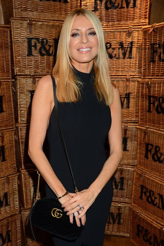 TESS DALY at Fortnum and Mason: Christmas and Other Winter Feasts Book Launch in London 10/17/2018