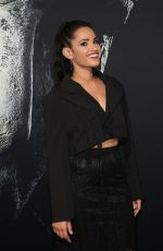 TIFFANY SMITH at Halloween Premiere in Los Angeles 10/17/2018