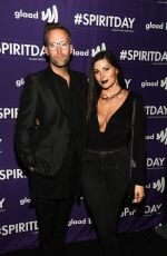 TRACE LYSETTE at Beyond Spirit Day Concert in Hollywood 10/17/2018