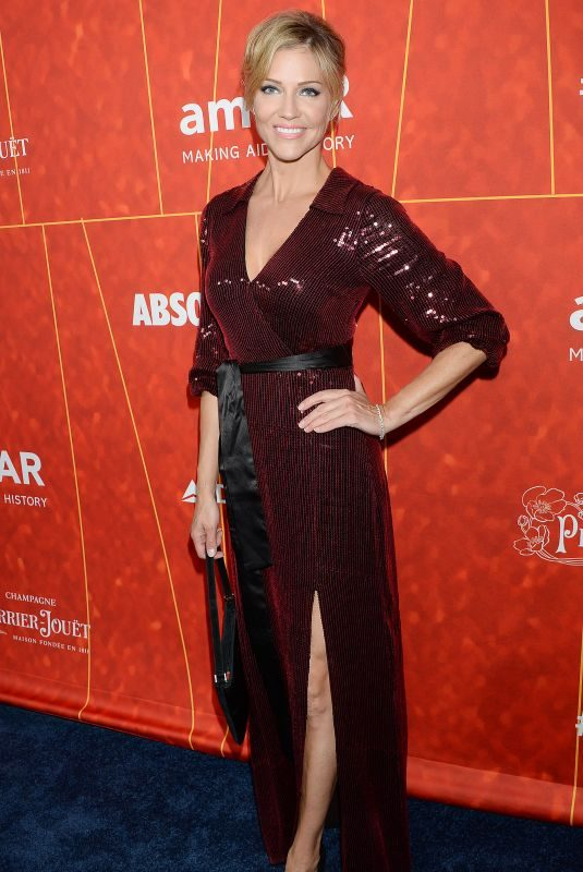 TRICIA HELFER at Amfar Gala 2018 in Los Angeles 10/18/2018