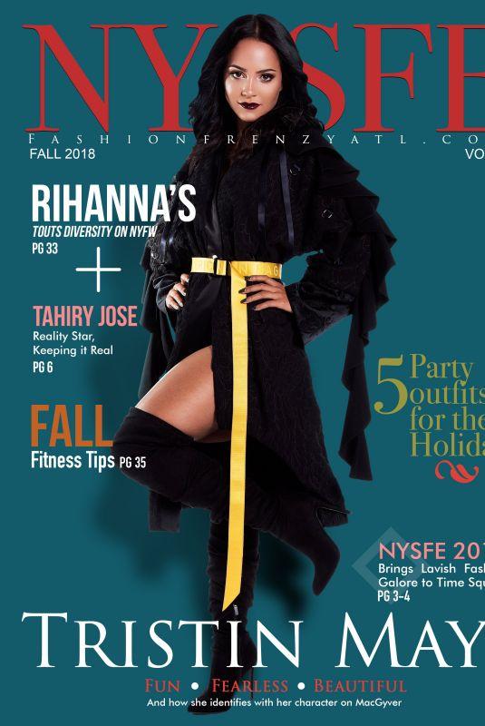 TRISTIN MAYS for Nysfe Magazine, October 2018