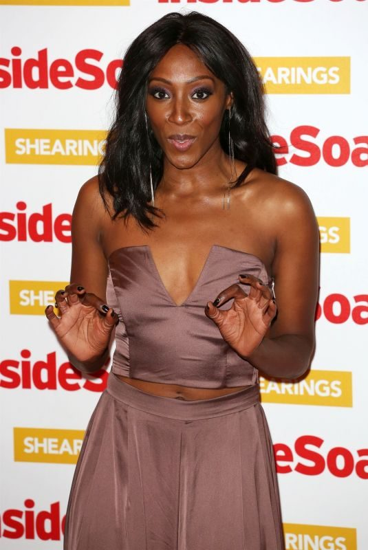 VICTORIA EKANOYE at Inside Soap Awards 2018 in London 10/22/2018