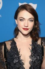 VIOLETT BEANE at Unicef Masquerade Ball in Los Angeles 10/25/2018