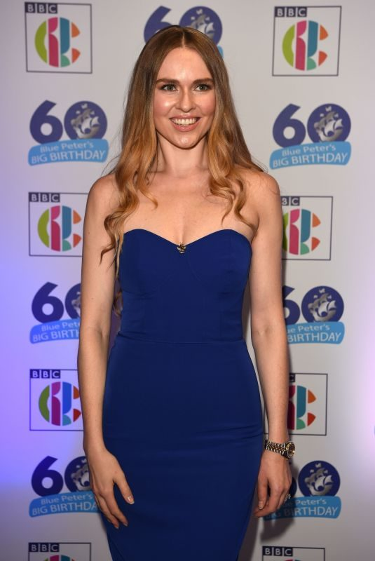 ZOE SALMON at Blue Peter's Big Birthday 60 Years Celebration in London 10/16/2018