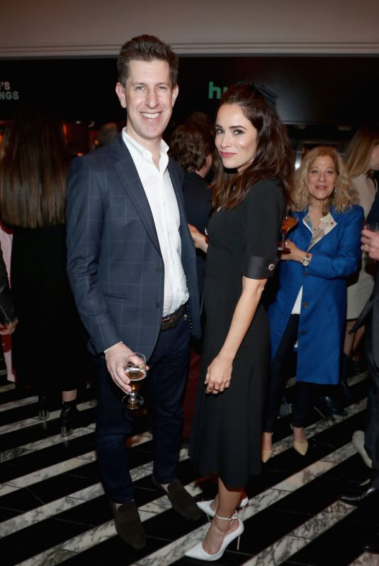 ABIGAIL SPENCER at 2018 Hulu Holiday Party in Los Angeles 11/16/2018