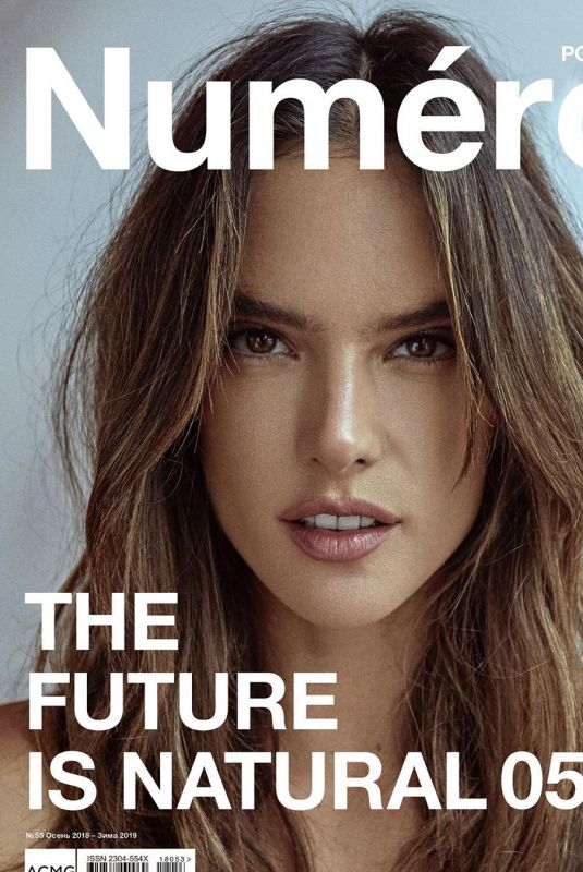 ALESSANDRA AMBROSIO in Numero Magazine, Russia Autumn 2018/Winter 2019