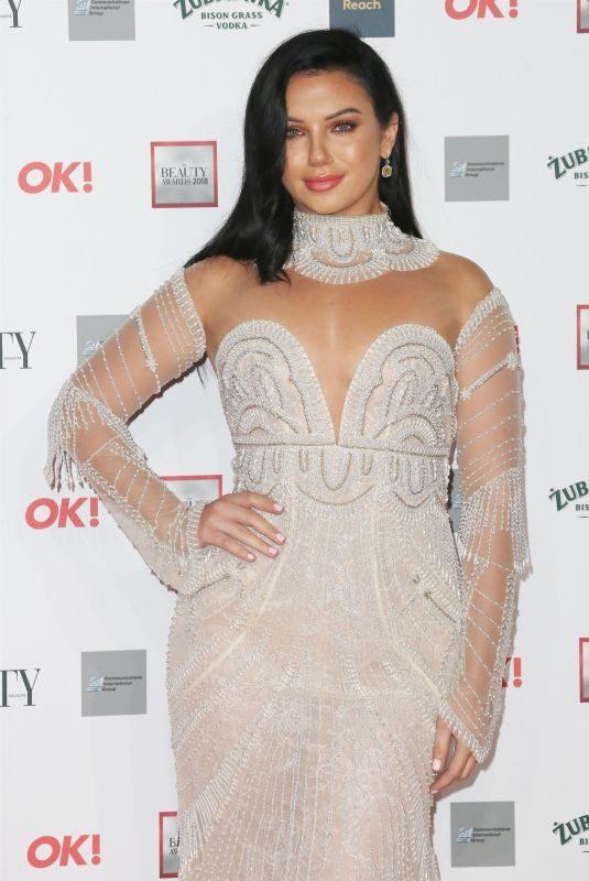 ALEXANDRA CANE at Beauty Awards 2018 in London 11/26/2018
