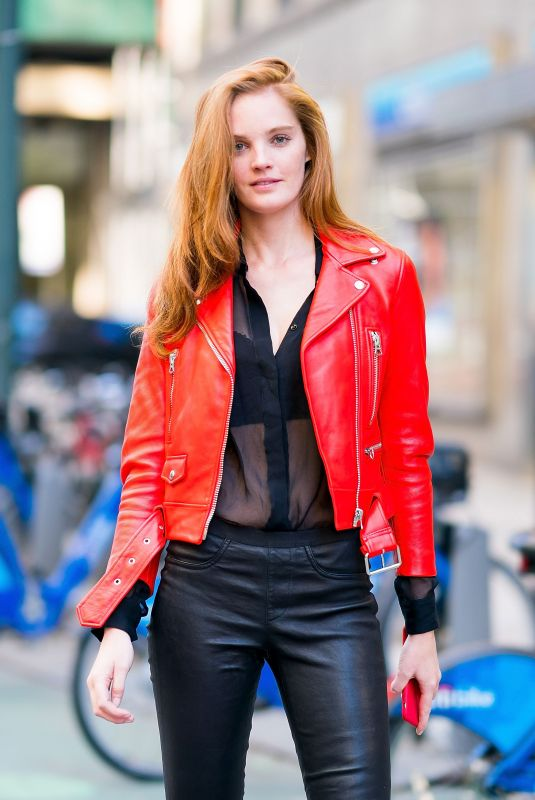 ALEXINA GRAHAM at Victoria's Secret Fashion Show Fittings in New York 11/04/2018