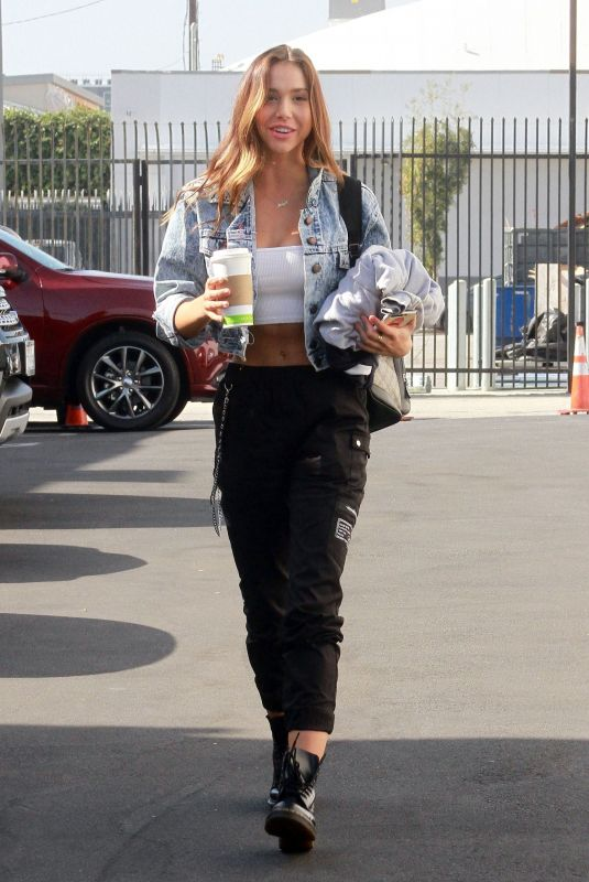 ALEXIS REN Arrives at Dancing with the Stars Studio in Los Angeles 11/08/2018