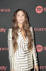 ALI TAMPOSI at Spotify Secret Genius Awards in New York 11/16/2018
