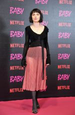ALICE PAGANI at Baby TV Series Photocall in Rome 11/27/2018