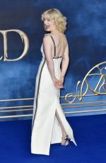 ALISON SUDOL at Fantastic Beasts: The Crimes of Grindelwald Premiere in London 11/13/2018