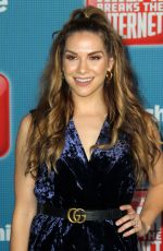 ALLISON HOLKER at Ralph Breaks the Internet Premiere in Hollywood 11/05/2018