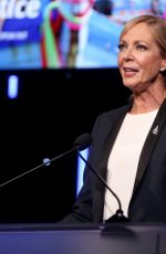 ALLISON JANNEY at HRW Voices for Justice Annual Dinner in Beverly Hills 11/13/2018