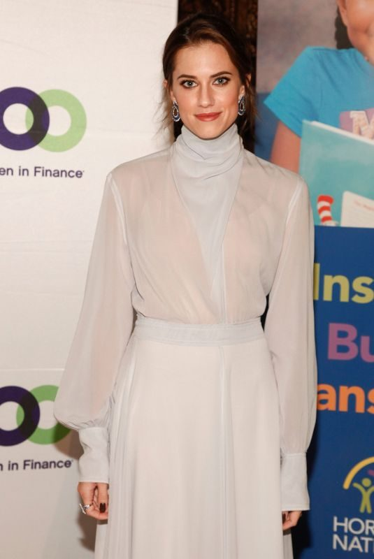 ALLISON WILLIAMS at 100 Women in Finance and Horizons National NYC Gala 2018 11/07/2018