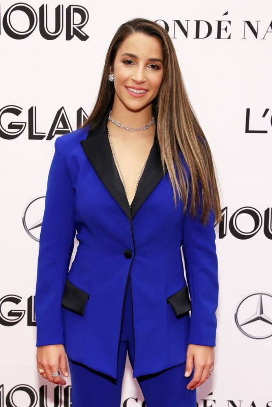 ALY RAISMAN at Glamour Women of the Year Summit: Women Rise in New York 11/11/2018