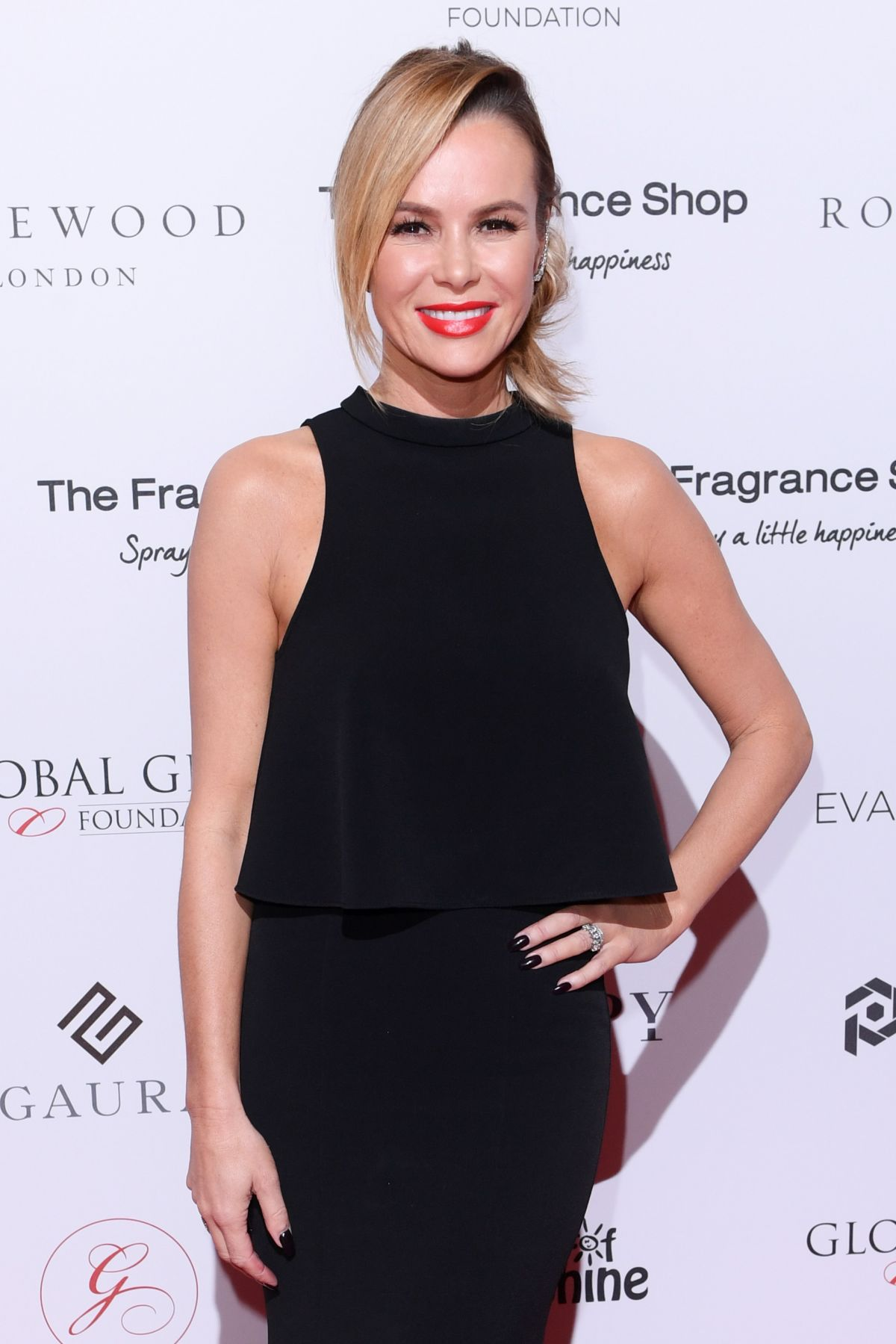 ae455060008 AMANDA HOLDEN at Global Gift Gala in London 11 02 2018 - HawtCelebs