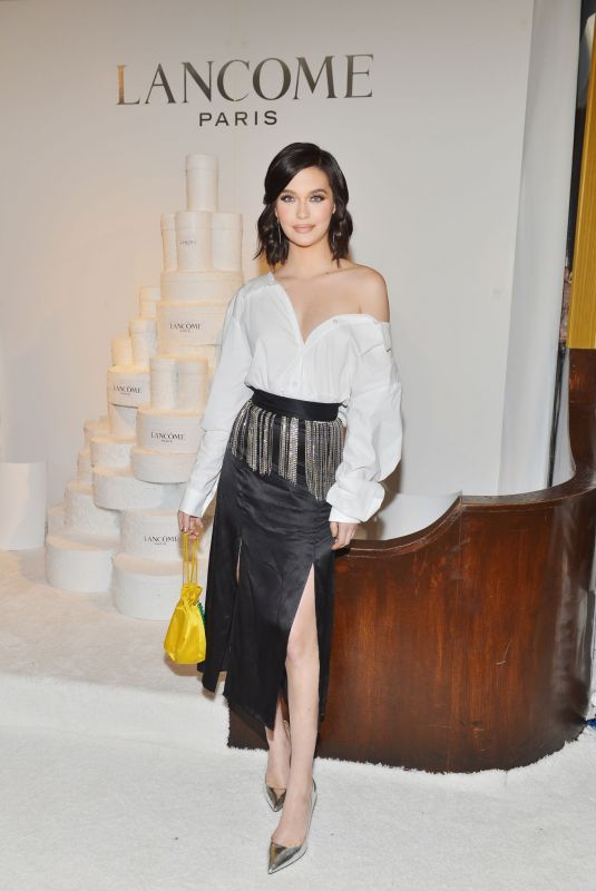AMANDA STEELE at Lancome x Vogue Holiday Event in West Hollywood 11/29/2018