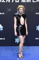AMBER HEARD at Aquaman Premiere in Beijing 11/18/2018