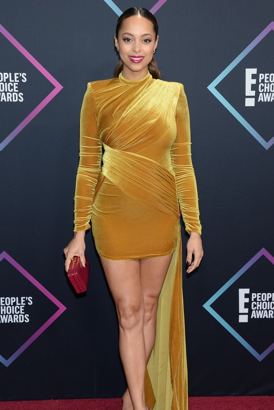 AMBER STEVENS at People's Choice Awards 2018 in Santa Monica 11/11/2018