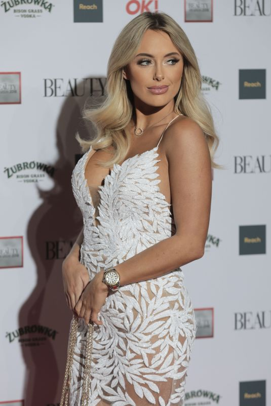 AMBER TURNER at Beauty Awards 2018 in London 11/26/2018