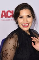 AMERICA FERRERA at Aclu Bill of Rights Dinner in Beverly Hills 11/11/2018