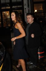 AMY DOWDEN Leaves Strictly Come Dancing: It Takes Two in London 11/12/2018