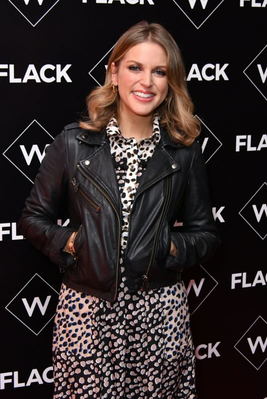 AMY HUBERMAN at Flack UKTV Premiere in London 11/13/2018