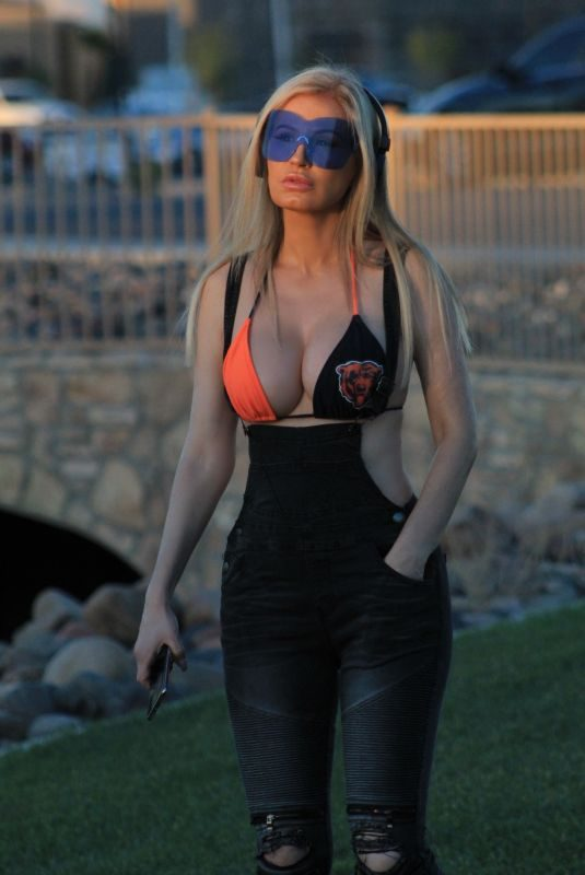 ANA BRAGA Out and About in Los Angeles 11/04/2018