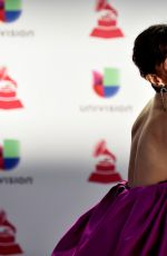 ANA DE LA REGUERA at 2018 Latin Grammy Awards in Las Vegas 11/15/2018