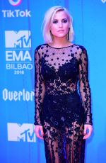 ANA FERNANDEZ at MTV European Music Awards 2018 in Bilbao 11/04/2018