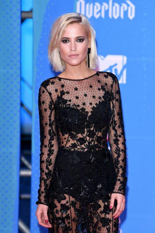 ANA FERNANDEZ at MTV European Music Awards 2018 in Bilbao 11/04/2018