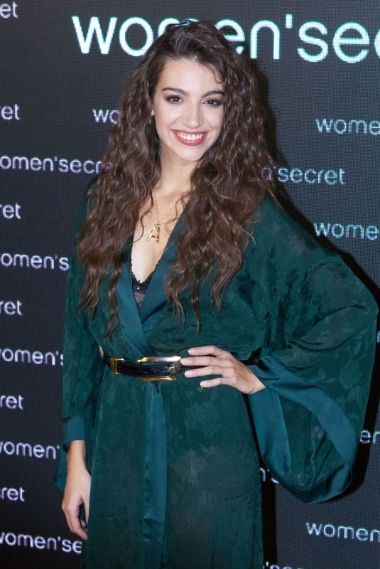 ANA GUERRA at Women Secret's 25 Birthday Party in Madrid 11/27/2018