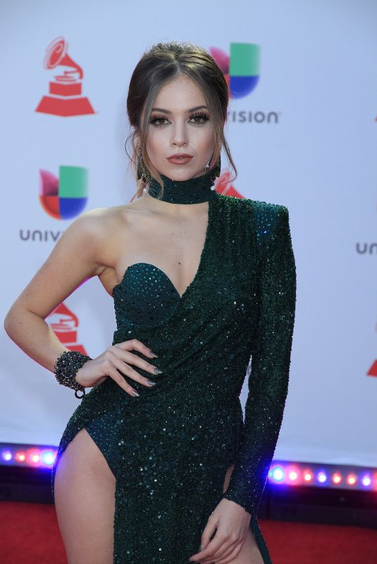 ANA MENA at 2018 Latin Grammy Awards in Las Vegas 11/15/2018