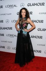 ANDIE MACDOWELL at Glamour Women of the Year Summit: Women Rise in New York 11/11/2018