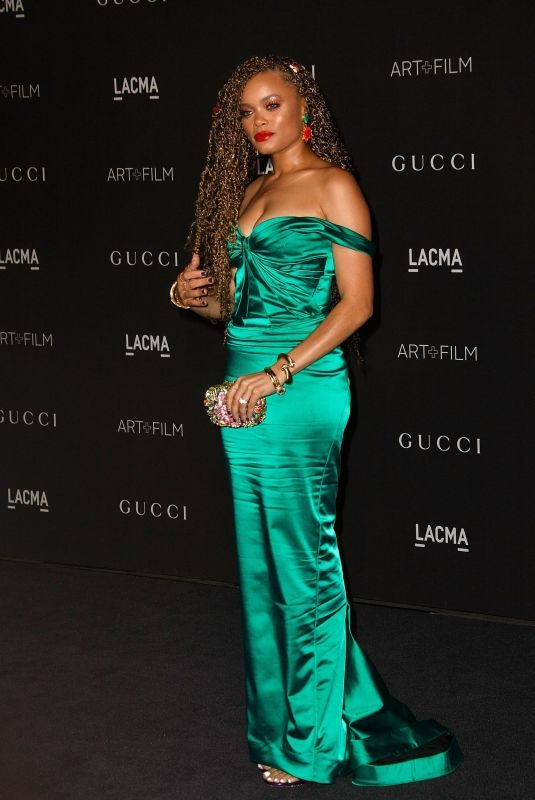 ANDRA DAY at Lacma: Art and Film Gala in Los Angeles 11/03/2018