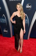 ANDREA BOEHLKE at 2018 CMA Awards in Nashville 11/14/2018