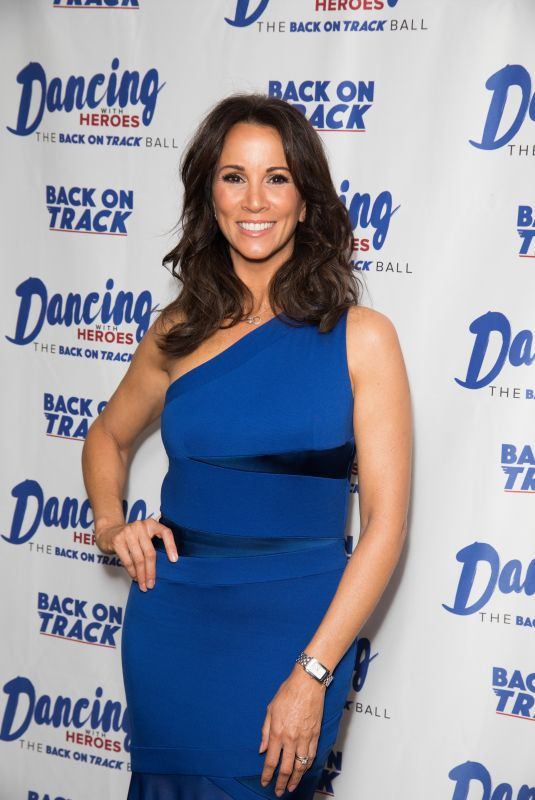 ANDREA MCLEAN at Dancing with Heroes Charity Fundraiser in London 11/24/2018