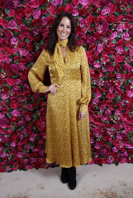 ANDREA MCLEAN at Pink Ribbon Foundation Ladies Lunch in London 11/28/2018