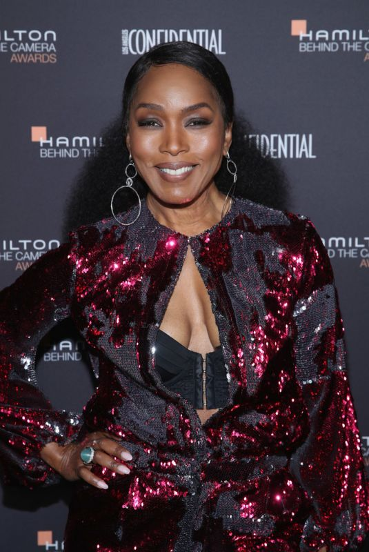 ANGELA BASSETT at Hamilton Behind the Camera Awards in Los Angeles 11/04/2018