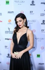 ANGELICA CELAYA at 2018 International Emmy Awards in New York 11/19/2018