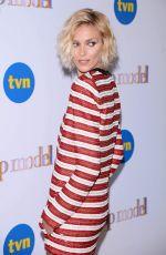 ANJA RUBIK at Top Model Show in Warsaw 11/26/2018