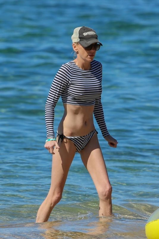 ANNA FARIS in Bikini at a Beach in Maui 11/24/2018