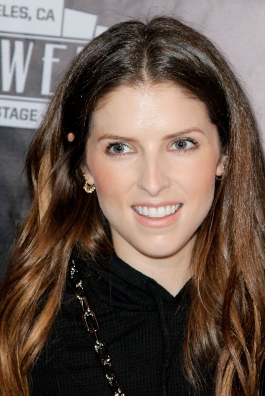 ANNA KENDRICK at The Unauthorized Parody of Stranger Things in Los Angeles 11/03/2018