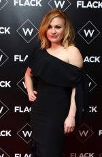 ANNA PAQUIN at Flack UKTV Premiere in London 11/13/2018
