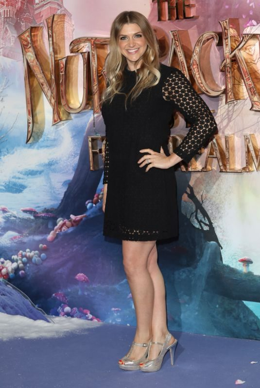ANNA WILLIAMSON at The Nutcracker and the Four Realms Premiere in London 11/01/2018