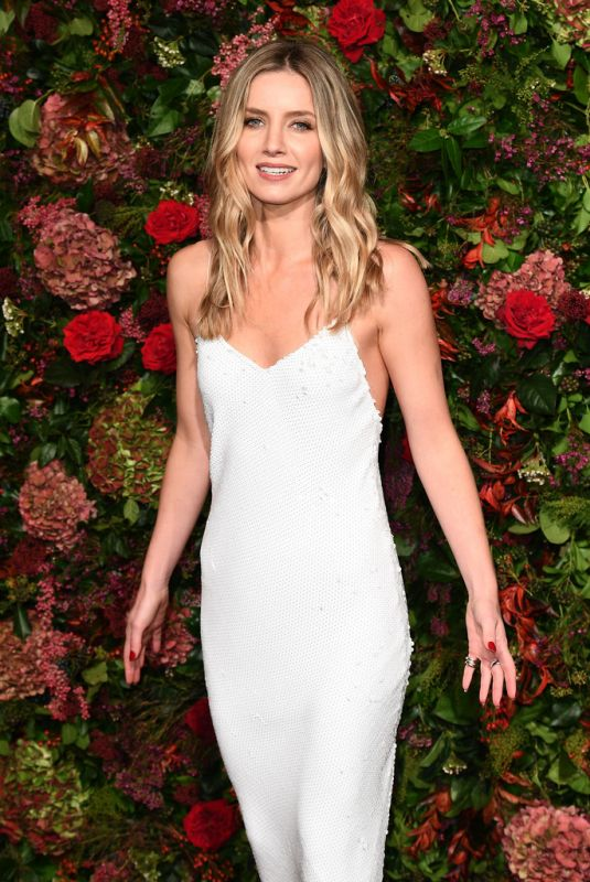 ANNABELLE WALLIS at Evening Standard Theatre Awards 2018 in London 11/18/2018